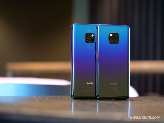 Huawei Mate 20 and Mate 20 Pro Features and Specs