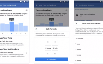 Facebook Launches Time Spent On App Dashboard